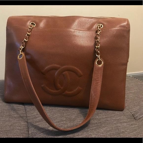 73358ae5cc56ba CHANEL Bags | Large Luggage Tote | Poshmark